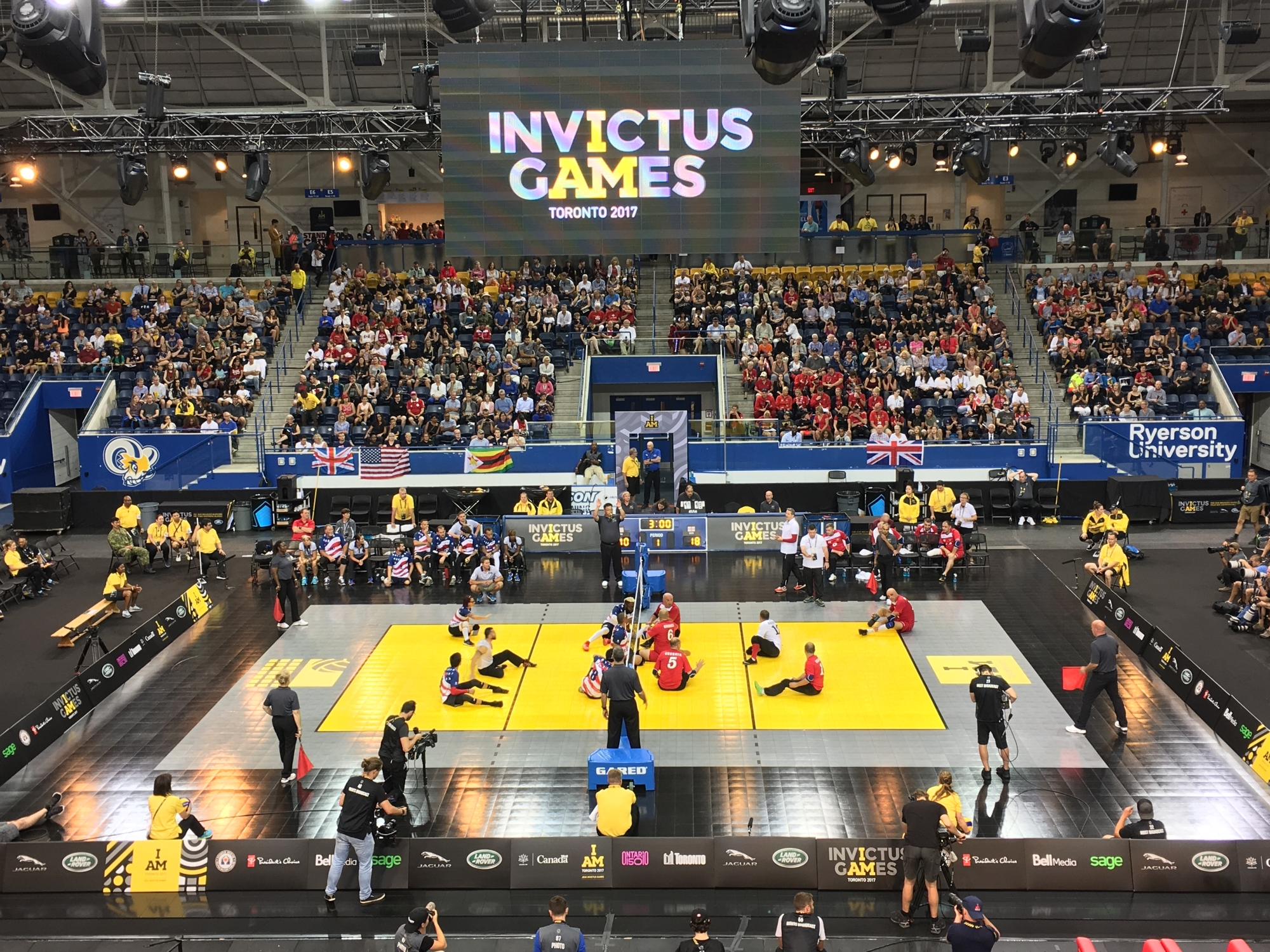 Sport Court Gerflor Now Approved By World Paravolley